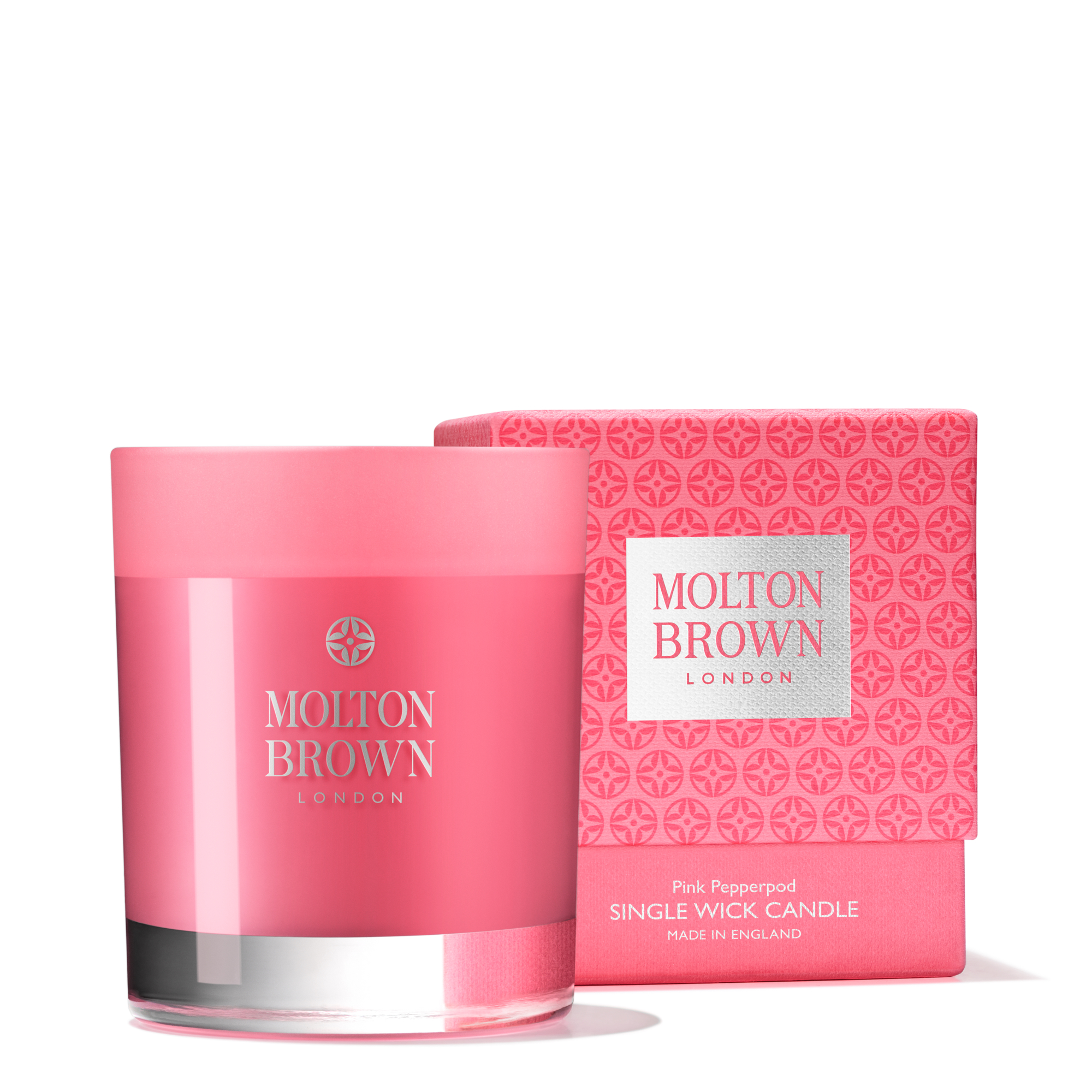 MOLTON BROWN Rose Pepperpod unique Wick Candle 180 g Brand New in Box