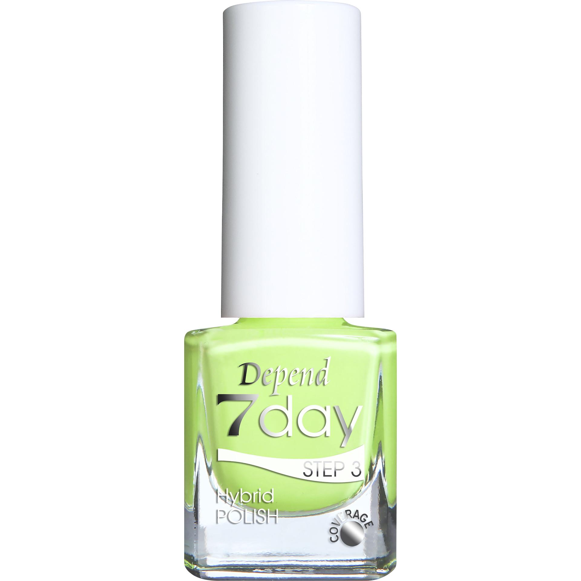 7 Day Hybrid Nail Polish Neon Motion Depend KICKS